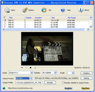 Torrent DVD to PSP MP4 Converter screenshot